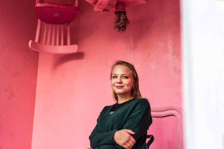 Surfařka Kristýna Křenová