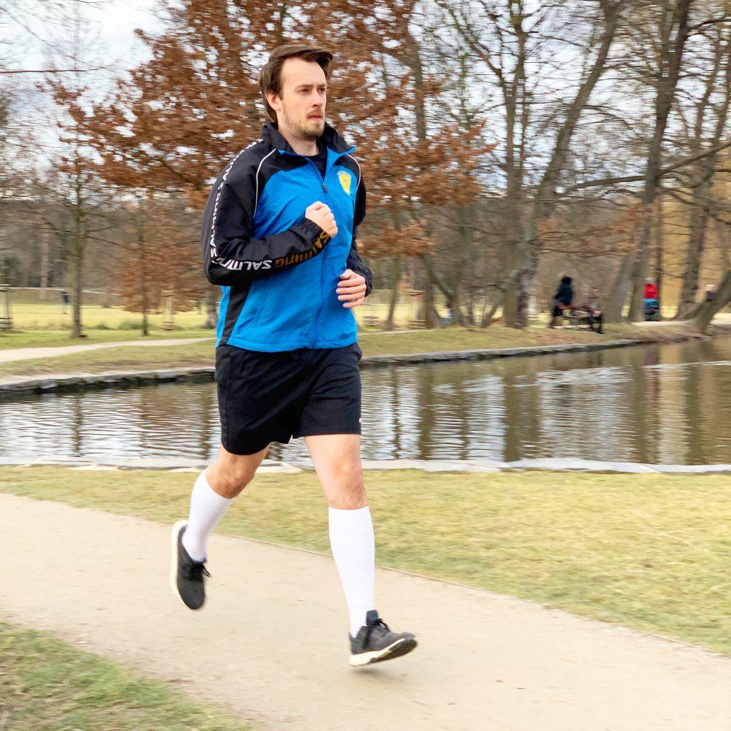 Michal rád běhá. A nejradši, když je to pro dobrou věc.