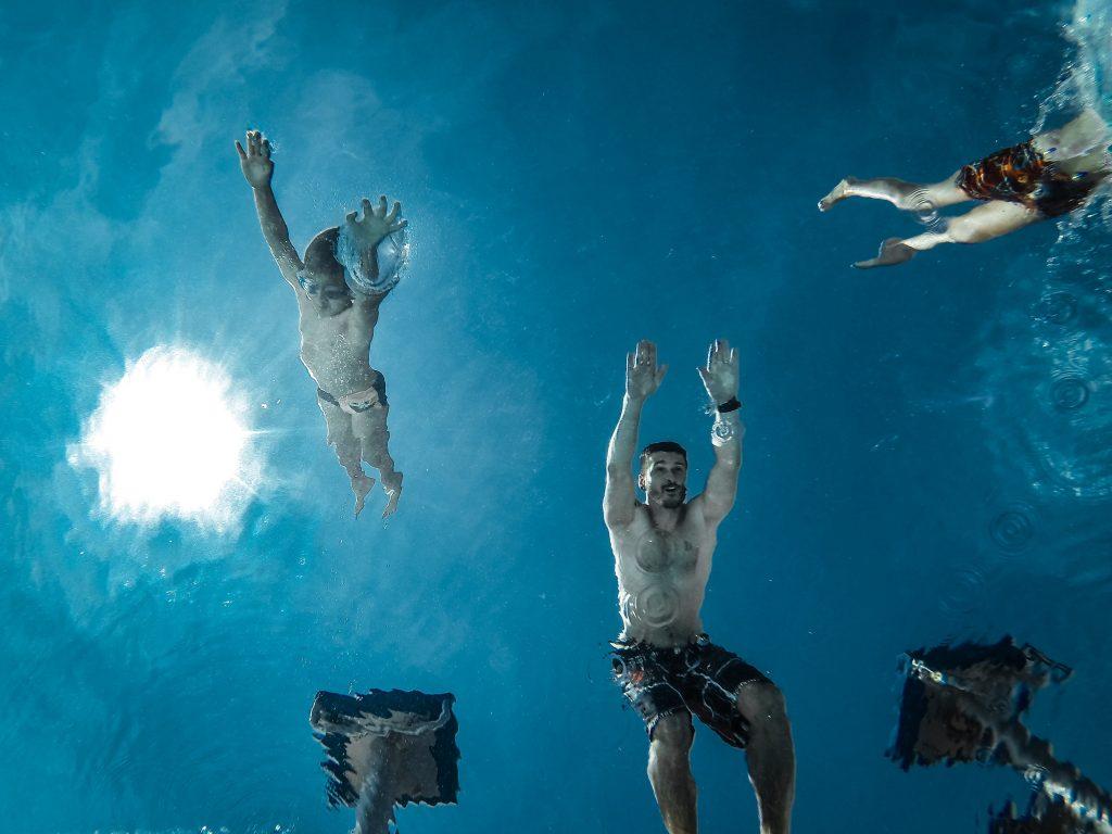 plavání s dětmi, jak sportovat s dětmi